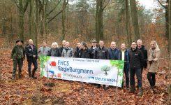 170 jaar Freudenberg | Bomen planten in het Bennekomse bos